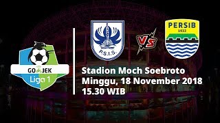 Live Streaming Indosiar Liga 1 Indonesia, PSIS Semarang Vs Persib Bandung Pukul 15.30 WIB