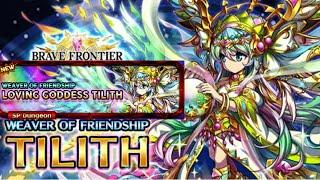 Brave frontier LOVING GODDES TILITH; free Unit OP