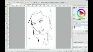 Serif DrawPlus X6 Tutorial - Pen and Pencil Drawing