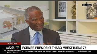 Former President Thabo Mbeki Turns 77