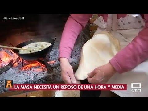 Preparamos tortillas en Horcajo de Santiago. 17/01/2019.