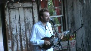 Chris Thile  Amazing two song end of set  Floydfest 7 28 12