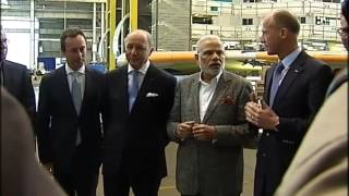 preview picture of video 'PM Modi's visit to Airbus Facility in Toulouse'