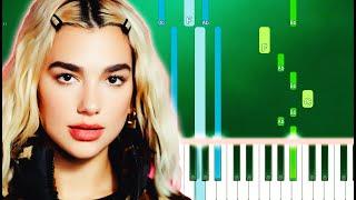 Dua Lipa - Cool (Piano Tutorial Easy)
