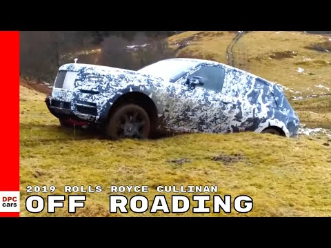 2019 Rolls Royce Cullinan Off Roading