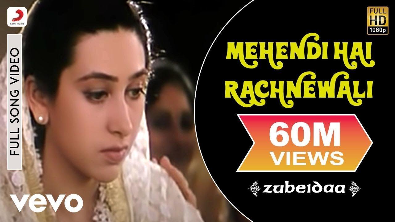 Mehndi Hai Rachne Wali Lyrics English Meaning Translation