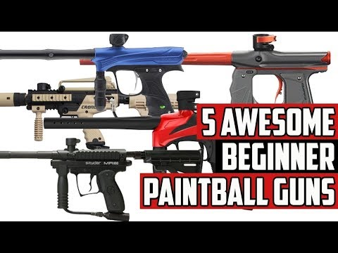 5 Awesome Beginner Paintball Guns – 4K