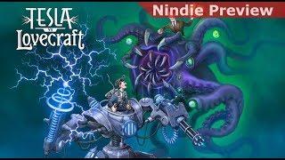 Nindie Preview: Tesla Vs. Lovecraft [The Big Showdown] [PC Beta]