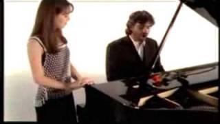 Andrea Bocelli & Sandy Vivo Por Ela[ella]Vivo Per Lei[clipe]