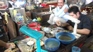 preview picture of video 'The main market in Kampot, Cambodia'