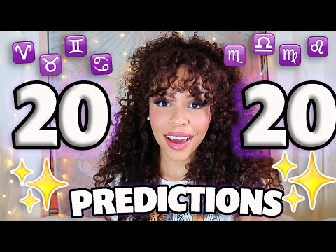 ✨2020✨ PREDICTIONS For Your ZODIAC Sign (Astrology)