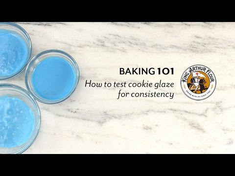 How to Test Cookie Glaze for Consistency