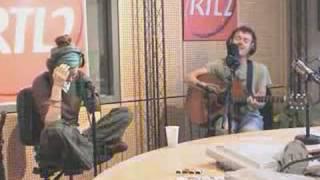 The Professor(with lyrics) - Damien Rice (Acoustic at RTL2)