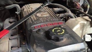 Cummins Diesel 5.9L Water Pump Removal And Install  2002-2006 Dodge Ram 2500 / 3500