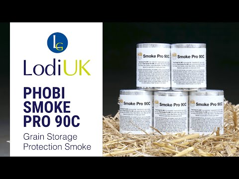 Watch how our Phobi Smoke Pro 90C can protect your grain storage from pests