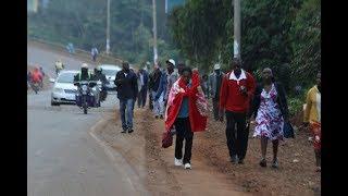 Fares double as matatus strike: PHOTOS & VIDEO