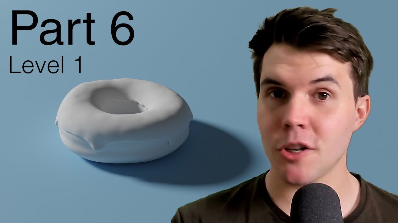 Part 6, Level 1: Rendering - Blender Beginner Tutorial