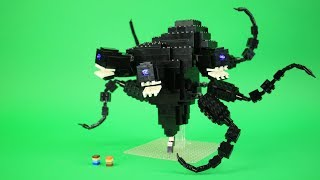 How to Build LEGO The Wither Storm   Custom LEGO Minecraft