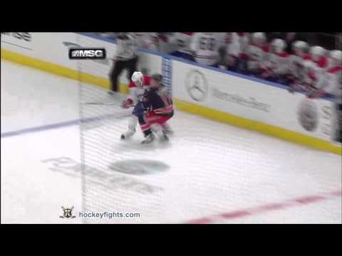 Ryan Callahan vs. Mike Blunden