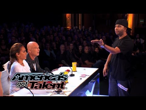 Smoothini: Bar Magician Flies Through Amazing Tricks - America's Got Talent 2014