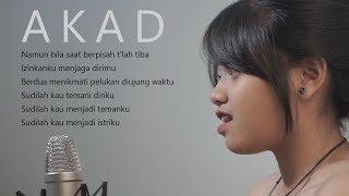 Akad - Payung Teduh Cover Hanin Dhiya (Lirik)