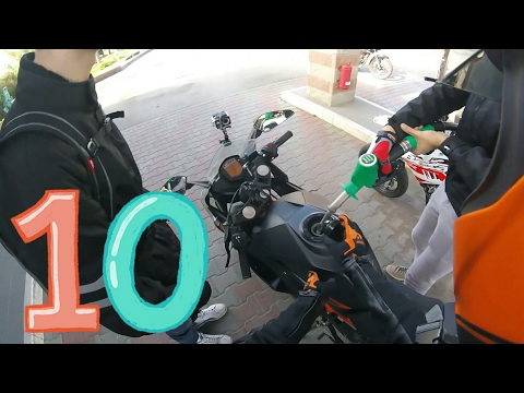 SERBATOIO PIENO PER 1€!?!? Daily Observations #10 ON KTM RC 125