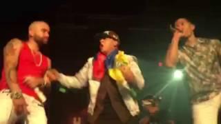 Chino y Nacho surprise by Daddy Yankee Andas En Mi Cabeza