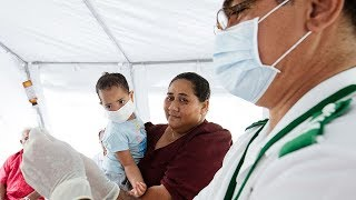 video: Samoa in 'lock down' as measles death toll rises to 63 and community anger grows