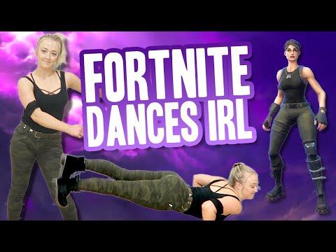 FORTNITE DANCES IN REAL LIFE CHALLENGE | Meghan McCarthy