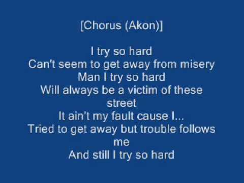 Bones Thugs N Harmony Ft Akon I Tried Lyrics