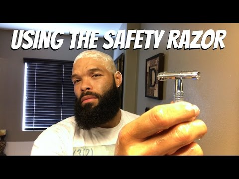 How To Use a Safety Razor /Head Shave Test