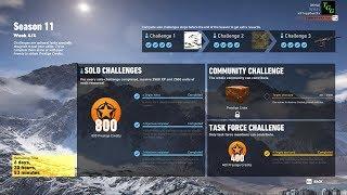 Season 11 Week 4 Task Force Challenge - Ghost Recon Wildlands
