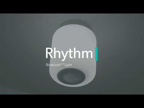 Video HIB Rhythm Bluetooth Ceiling Light