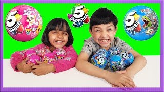 Opening a big collection of surprise eggs toys for boys and girls