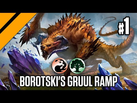 Borotski's Gruul Ramp - Bo3 Constructed P1 | Ikoria | MTG Arena