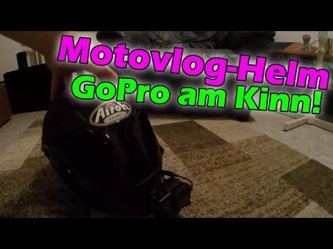 HELM-KAMERA UPDATE! | GoPro am Kinn vom Helm montieren.