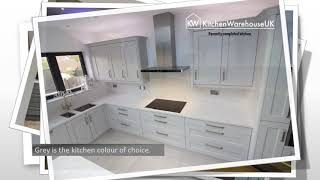 Recently Completed Grey Kitchens