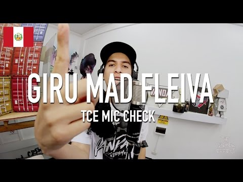 Giru Mad Fleiva - Listen Up ( Prod. By Young Rebxl ) [ TCE Mic Check ]