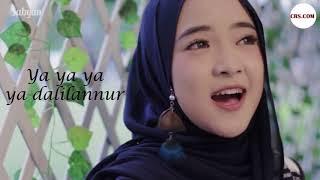 Lirik Nissa Sabyan  Ya Habibal Qolbi