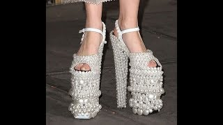 UNIQUE CRAZY SANDALS DESIGNS FOR WOMEN,HIGH HEELS COLLECTION,LADIES FOOTWEAR DESIGNS,SHOES FOR GIRLS