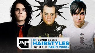Emo Swoops Galore! 10 Iconic Scene Hairstyles From The 2000s