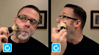 Shaveology: How To Brush Lather