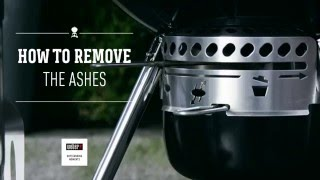 How to remove the ashes