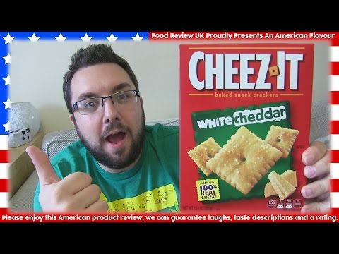 Cheezits White Cheddar Review (America)