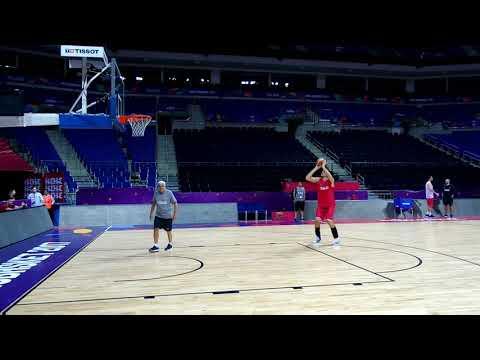 Hoću da čujem BUĆ, a ne DOING: Muta Nikolić daje instrukcije Bobiju #EuroBasket2017