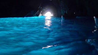 Blue Grotto, Capri, Italy - Relaxing Boat Tour. Grotto Azzurra
