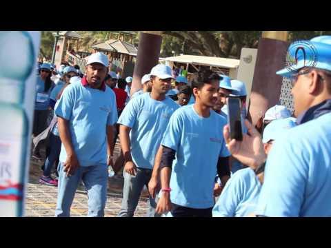 كة الجمعية في مسيرة حارب السكري بحديقة القرم الطبيعية 2016 مسقط