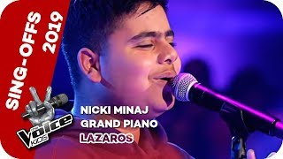 Nicki Minaj - Grand Piano (Lazaros) | Sing-Offs | The Voice Kids 2019 | SAT.1