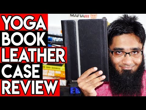 Lenovo Yoga Book 10.1 Leather Case Sleeve Review & Unboxing | Best Yoga Book Case in the World! [4K]