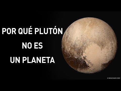 Razones Por Las Que Plutón Ya No Se Considera Un Planeta